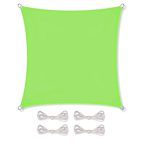 Modernes Sonnensegel in Grün aus Polyester von CelinaSun
