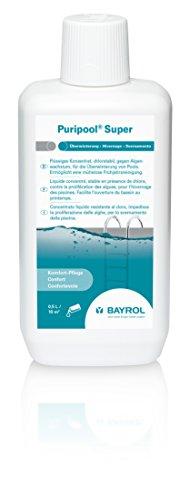 Chlorstabiler- und schaumfreier Überwinterungskonzentrat Puripool mit 1 Liter Inhalt von Bayrol