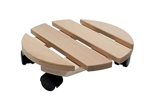 Runder Pflanzenroller mit 30 cm Durchmesser und Tragkraft von 120 kg