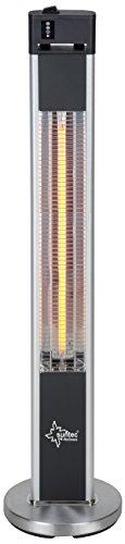 Terrassenheizstrahler mit 3 Wärmestufen und Fernbedienung von Suntec Wellness