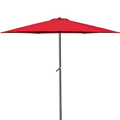 Ist Ihr alter Sonnenschirm nicht mehr zu retten? Oft bedeutet ein Neukauf weniger Kosten und Aufwand