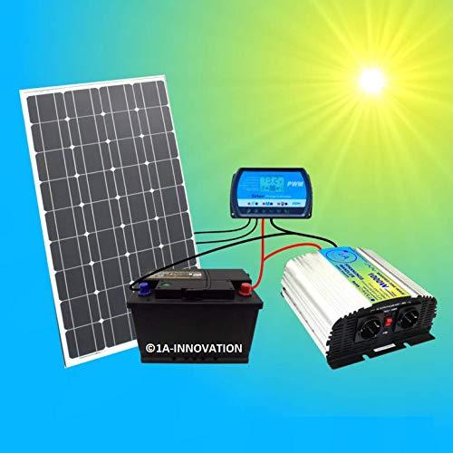 1A-Innovation Hochleistungs-Solaranlage Solar100-1
