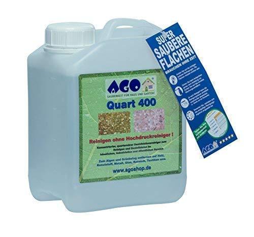 Grünbelagentferner Konzentrat Quart 400 mit 2 L Füllmenge von AGO