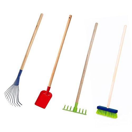 4-tlg. Gartengeräte-Set für Kinder von Land-Haus-Shop