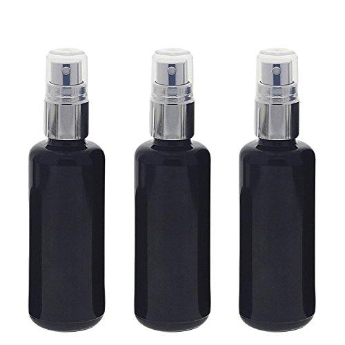 3 x 50 ml Zerstäuber aus Violettglas von Kosmetex
