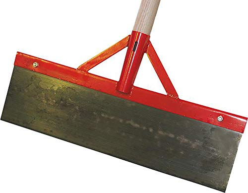 Stoßscharre inkl. Stiel aus Federstahl 0,5 m breit von TRIUSO