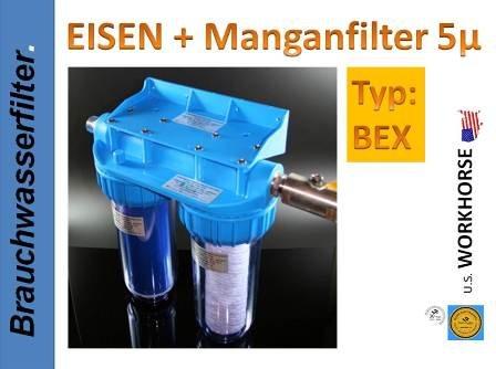 Workhorse Eisen + Manganfilter