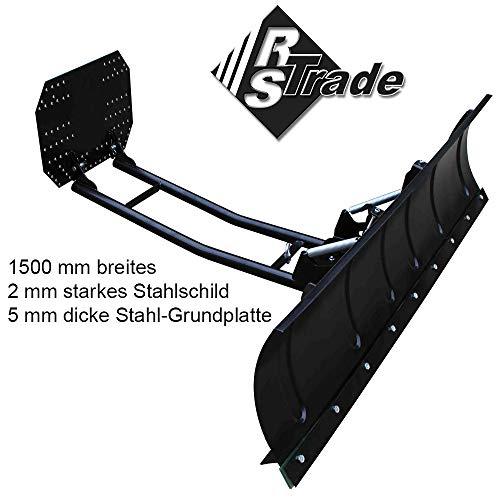 Verstellbares Schneeschild  für ATV Quad Maße 150 x 40 cm