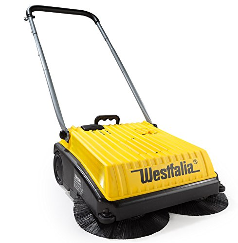 2 in 1 Elektro Kehrmaschine von Westfalia