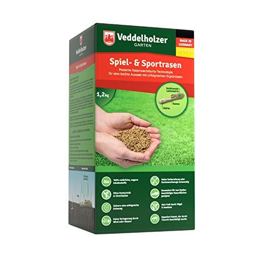 Veddelholzer Garten Rasenpellets für Spiel- und Sportrasen