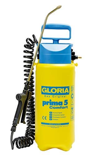 Giftspritze Prima 5 Comfort mit 5 l Inhalt und 2,5m langen Spiralschlauch von Gloria