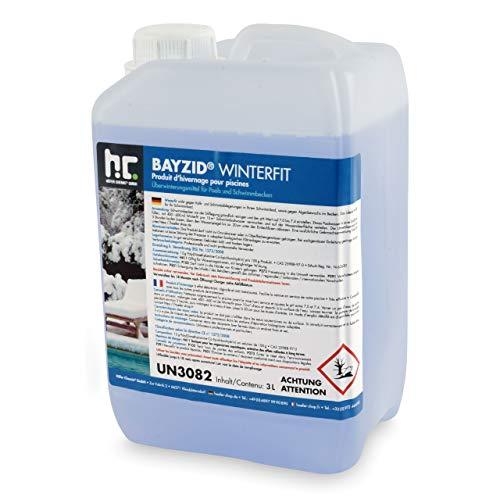 BAYZID Winterfit 3 Liter Konzentrat zur Überwinterung von Schwimmbad oder Pool von Höfer Chemie GmbH