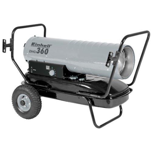 Heißluftgenerator DHG 360 mit 38 Liter Tank für Diesel und 36 kW Leistung von Einhell