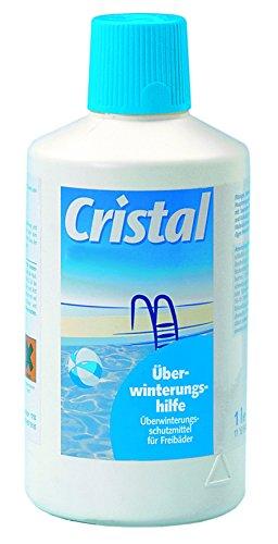 Überwinterungsmittel für Freibäder oder Pools Füllmenge von einem Liter von Cristal