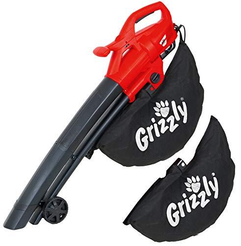 Der Grizzly Elektro 3in1 mit Laubsauger, Laubbläser & Häcksler