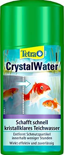 CrystalWater von Tetra Pond in 0,5 Liter Flasche für Säuberung des Teichwassers
