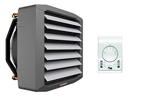 Flowair Lufterhitzer 20kW+ Trafo-Regler + Thermostat