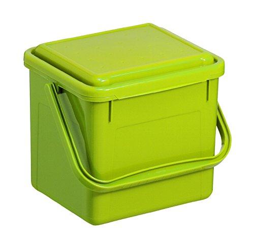 Komposteimer mit 4,5 Liter Volumen von Rotho