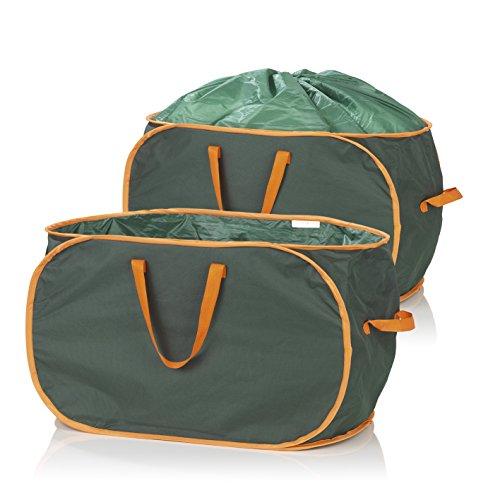 2 Gartenabfalltaschen mit je 333 Liter Inhalt von Prima Garden