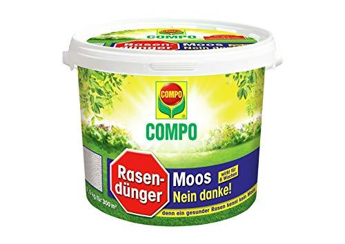 Moosvernichter für Rasen 7,5 kg Eimer von Compo