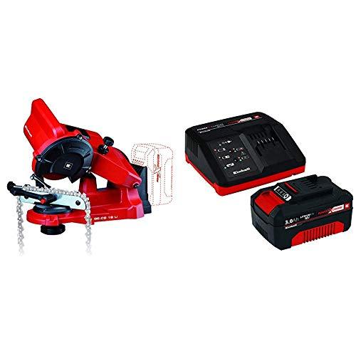 Platz 5: Das Einhell Akku GE-CS 18 Li Solo Power X-Change Kettensägeschärfgerät
