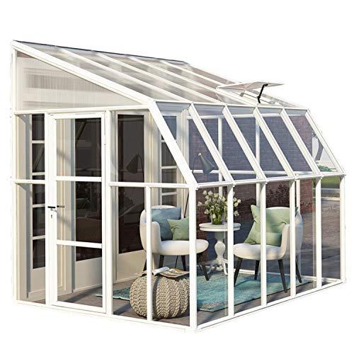 """Wintergarten mit Dachfenster """"Sun Room 45"""" aus Kunststoff von RION"""