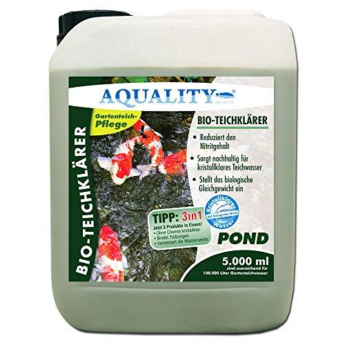 Bio-Teichklärer von Aquality für Ihren Gartenteich