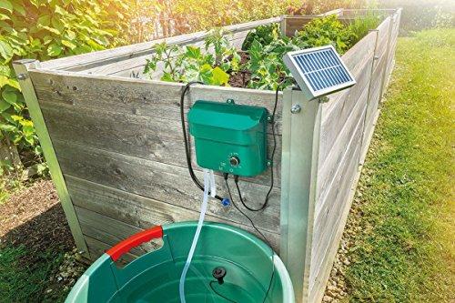 Pflanzenbewässerung mit 15 Sprinklern - Das Esotec 101100 Solar Bewässerungssystem WaterDrops Komplettset