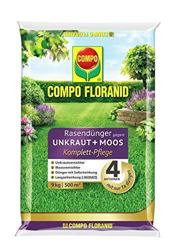 Moosvernichter für Ihren Rasen in 9 kg Eimer von Compo