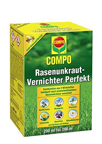 Unkrautvernichter Konzentrat für Rasen mit einer Fläche von max. 200 qm von Compo