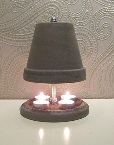 Teelichtofen in Basalt Maße 23 x 16 cm von Teelichtofen24