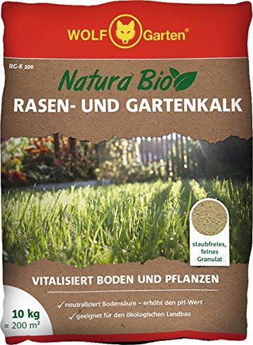 WOLF-Garten Natura Bio-Rasen- und Gartenkalk