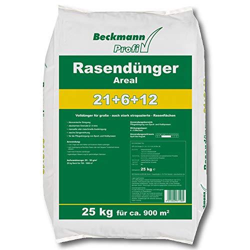 Rasendünger mit 25 kg für ca. 900 qm von Beckmann