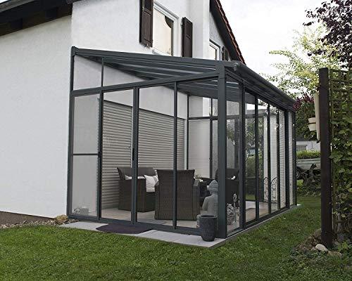 """Acryl-Veranda """"San Remo"""" für Wintergarten Maße: 295 x 425 x 310 cm von Palram"""