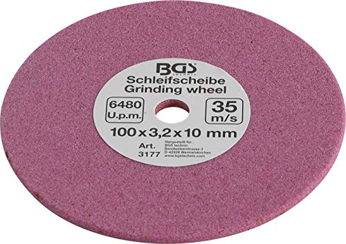 BGS Kettensägenschärfgerät Schleifscheibe