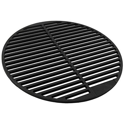 Runder emaillierter Grillrost Ø 45 cm aus Gusseisen für Holzkohlegrill von BBQ-Toro