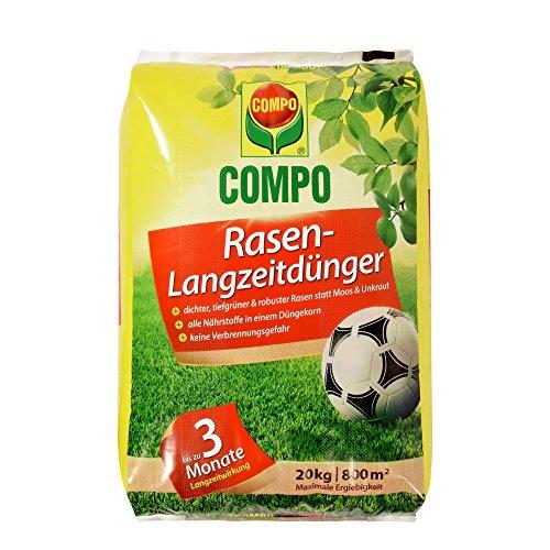 20 kg Langzeitdünger für Rasen von Compo