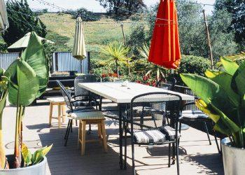 Sonnenschirm reinigen | Anleitung für Grünspan & Stockflecken