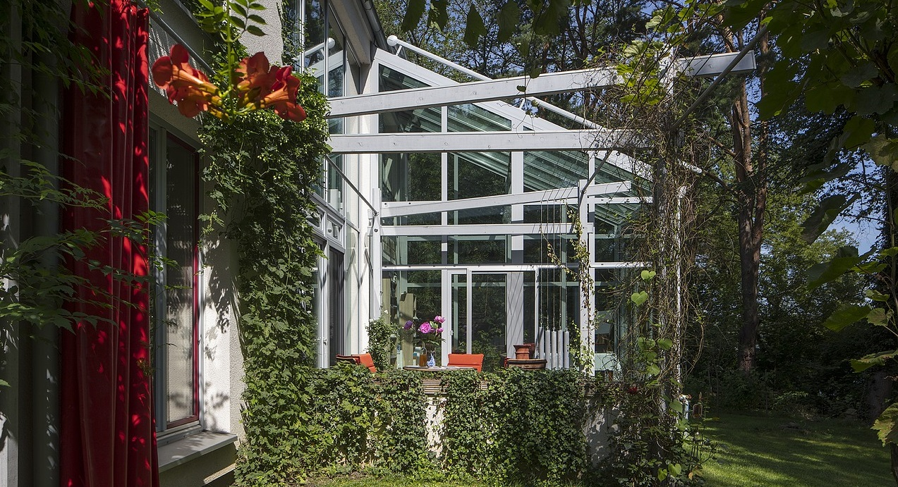 Wintergarten Aus Holz Holzkonstruktion Mit Alu Verkleiden