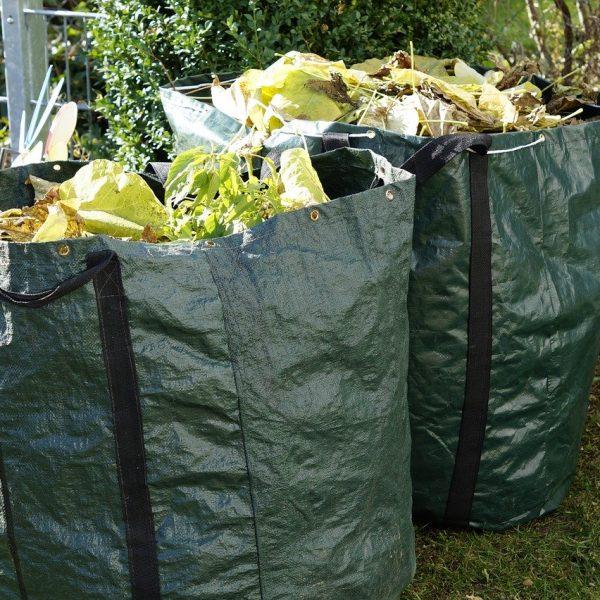 Garten Gartenabfälle Kompost Gartensack