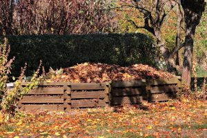 Häcksler Kompost Garten Laub Äste