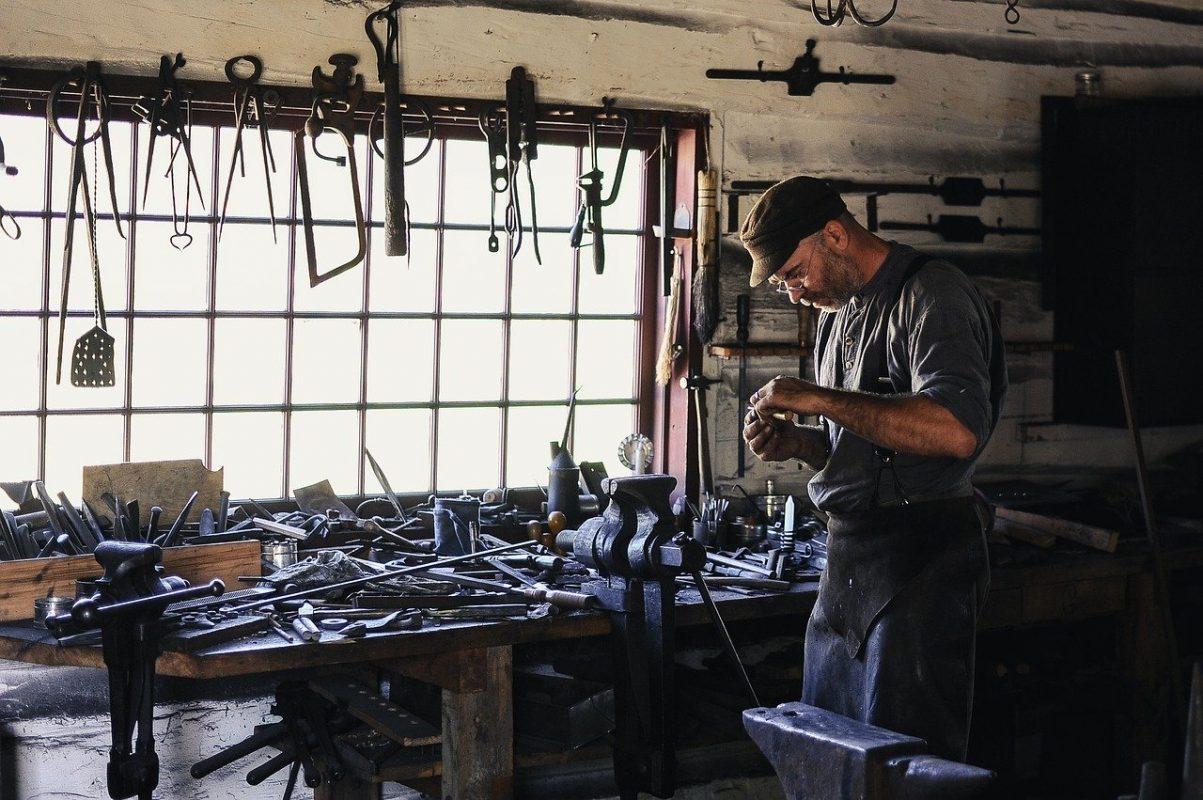Werkstatt Handwerker Hobbyraum Werkzeug