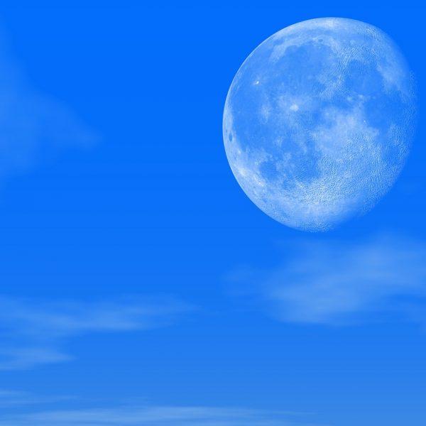 Mond Mondkalender Himmel Wolken