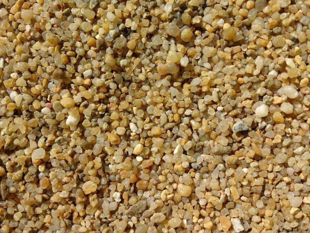 Sand Sanden Quarzsand